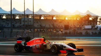 Motor Racing - Formula One World Championship - Abu Dhabi Grand Prix - Practice Day - Abu Dhabi, UAE
